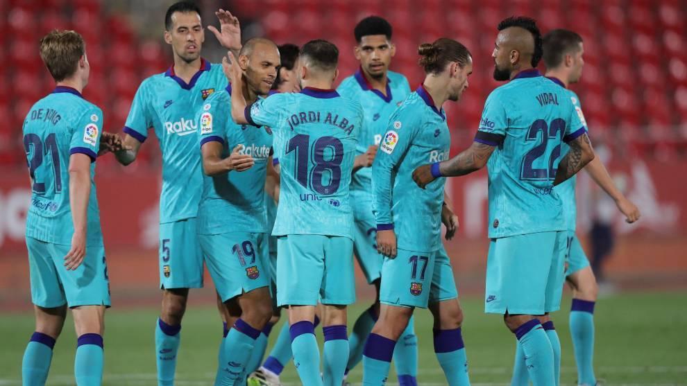 El uno a uno del Mallorca vs Barcelona: Umtiti y Lenglet deben andarse con ojo, Araújo convence