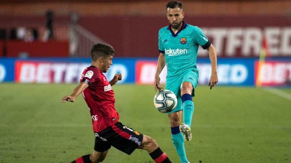 A goal, an assist and a suspension for Jordi Alba