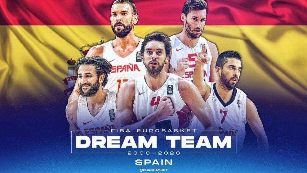 Elegido el mejor quinteto español del siglo XXI según los aficionados
