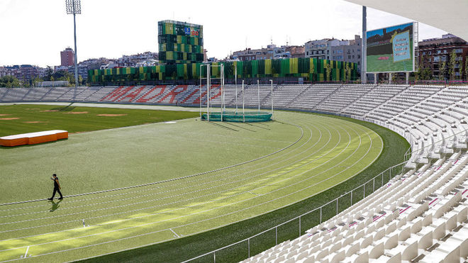 El Estadio de Vallehermoso