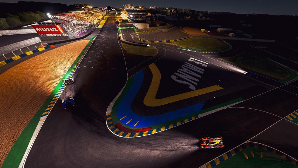 Las 24 Horas de Le Mans virtuales.