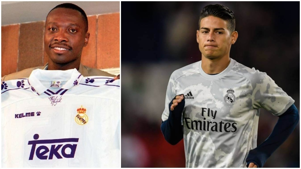 Rincon: I wish I was given half the chances that James has had at Real Madrid
