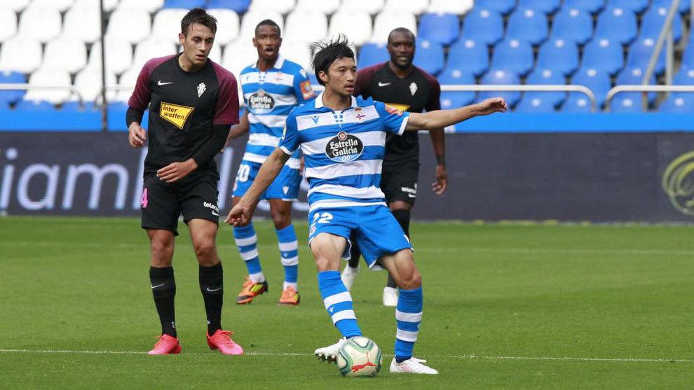 Deportivo-Sporting, en directo