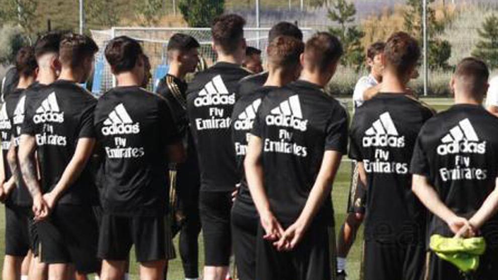 Una imagen de un entrenamiento del Castilla