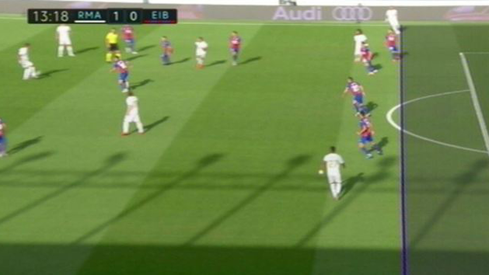 VAR shows there was no offside at Kroos' goal
