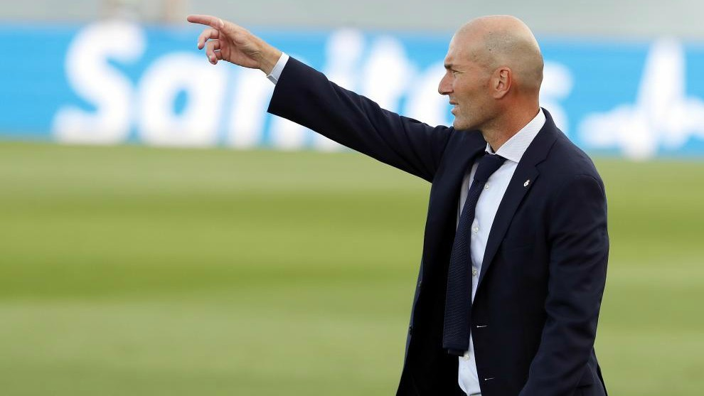 Zidane: Real Madrid's first half was convincing, but we struggled in the second