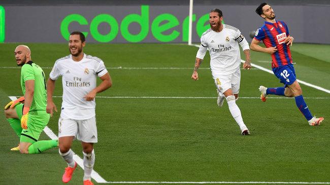 El Madrid replica al Barça