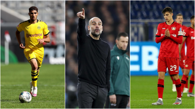 Monday's transfer round-up: Guardiola after Achraf and Chelsea want Havertz