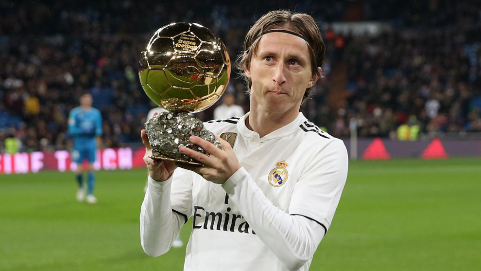 Luka Modric won the Ballon d'Or in 2018.