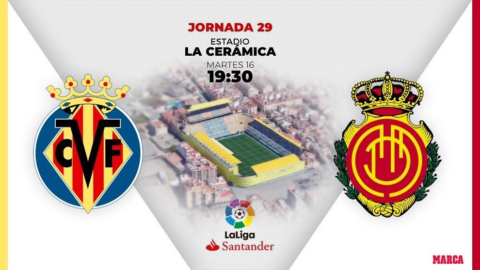 Villarreal vs Mallorca: horario y dónde ver por televisión hoy el...
