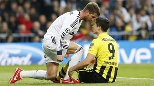 Ramos y Lewandowski se encaran en la vuelta de semifinales de la...