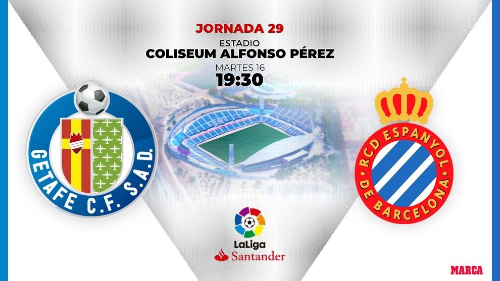 Getafe - Espanyol: horario y dónde ver en television hoy el partido...