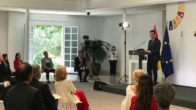 El presidente del Gobierno, Pedro Sánchez, presenta el Plan de...