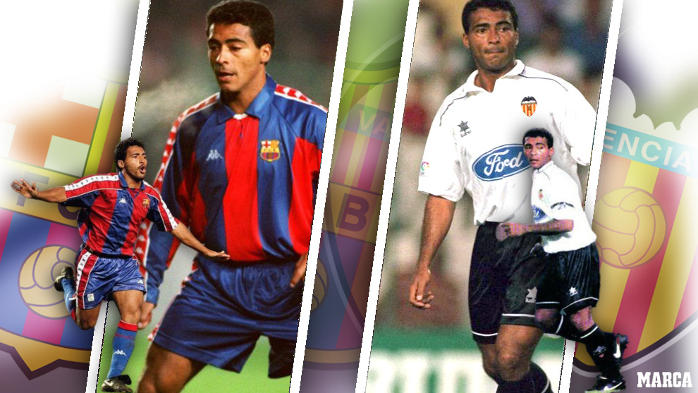 I played with... Romario: We just tried not to let him make a fool of us