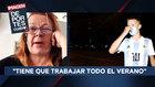 """La madre del espontáneo fan de Messi: """"Está muy castigado"""""""