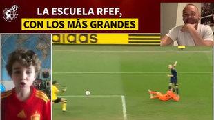 Pelos de punta: la narración del gol de Sudáfrica de un niño que emociona a Iniesta