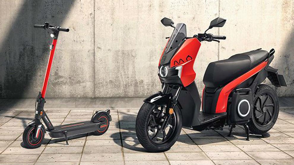 Los nuevos 'fichajes' de Seat Mó: patinete Sway y moto Silence.