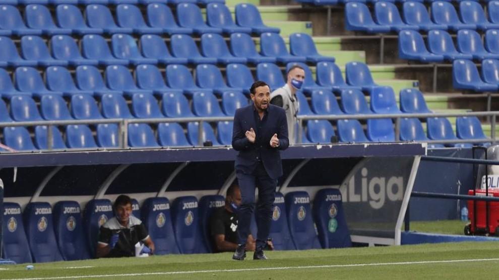 """Getafe: Bordals: """"No hemos entrado bien al partido"""""""