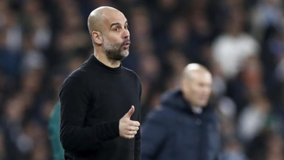 Guardiola is set to face Arsenal.