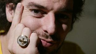 10 años del segundo anillo de Pau Gasol... y del ninguneo que sufrió con el MVP