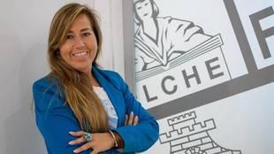 Patricia Rodríguez Barrios, directora general del Elche