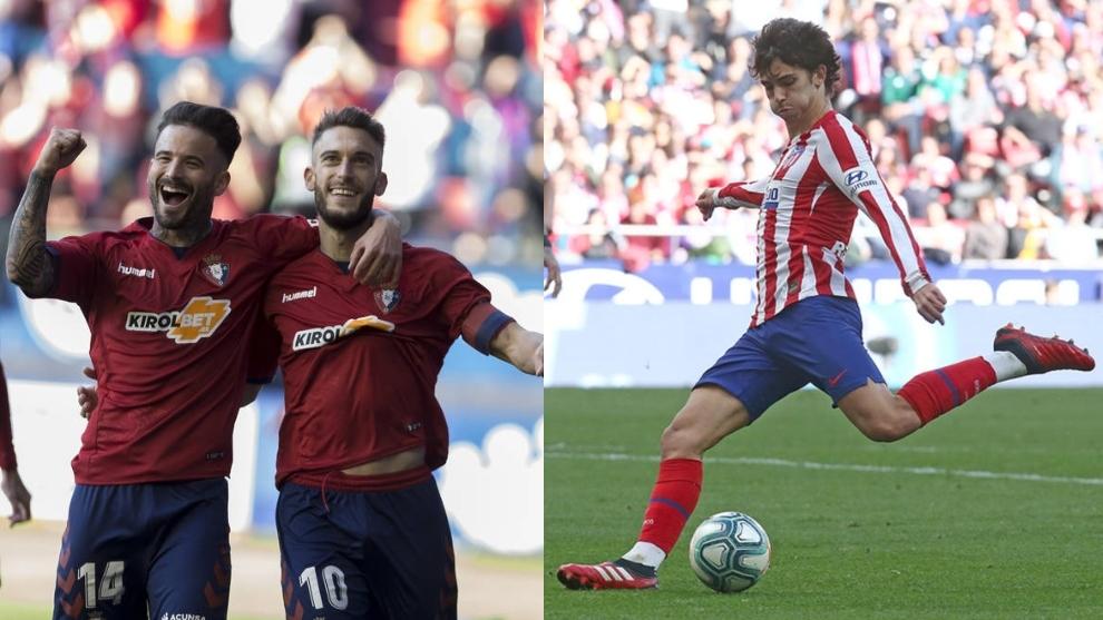 Cuotas y claves para pronósticos del Osasuna-Atlético: Joao, ante los dos líderes rojillos