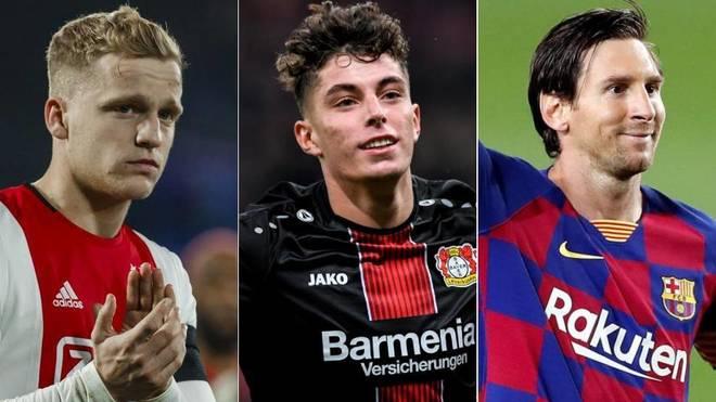 Van de Beek, Havertz y Messi son algunos de los nombres del día en el...