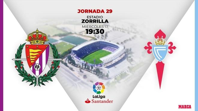 Alineaciones confirmadas del Valladolid-Celta: Óscar  recupera la línea de tres centrales