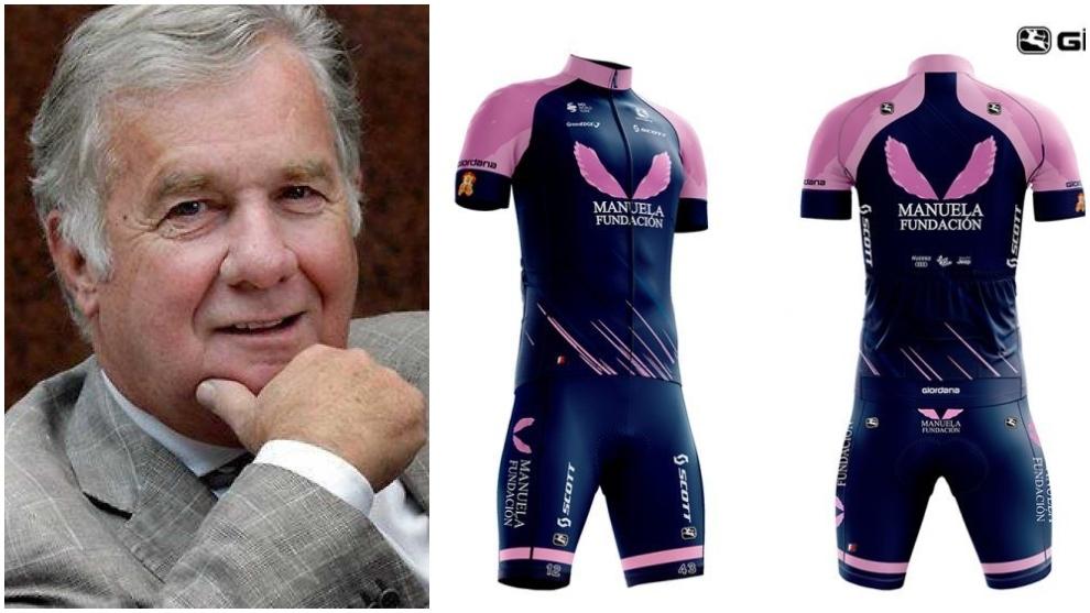 Gerry Ryan, dueño del Mitchleton-Scott, y el uniforme de la Manuela...