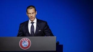 Aleksander Ceferin, presidente de UEFA