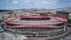 Imagen exterior de Estadio de la Luz de Lisboa donde se jugará la...