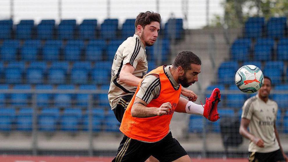 Carvajal trains as normal ahead of Valencia clash