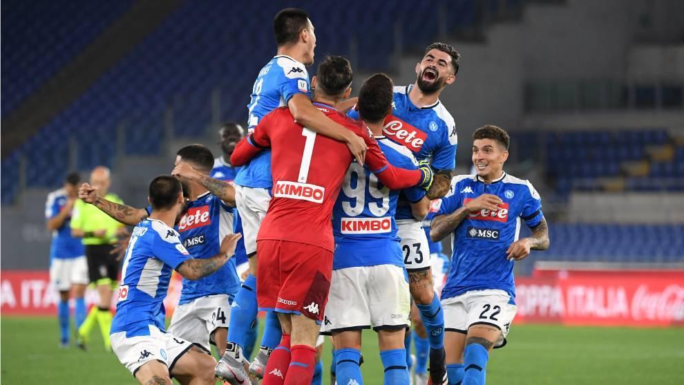 Napoli gana en penales a la Juve