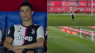 Horrorosa tanda de penaltis de la Juventus: Cristiano se quedó sin lanzar... y con esta cara