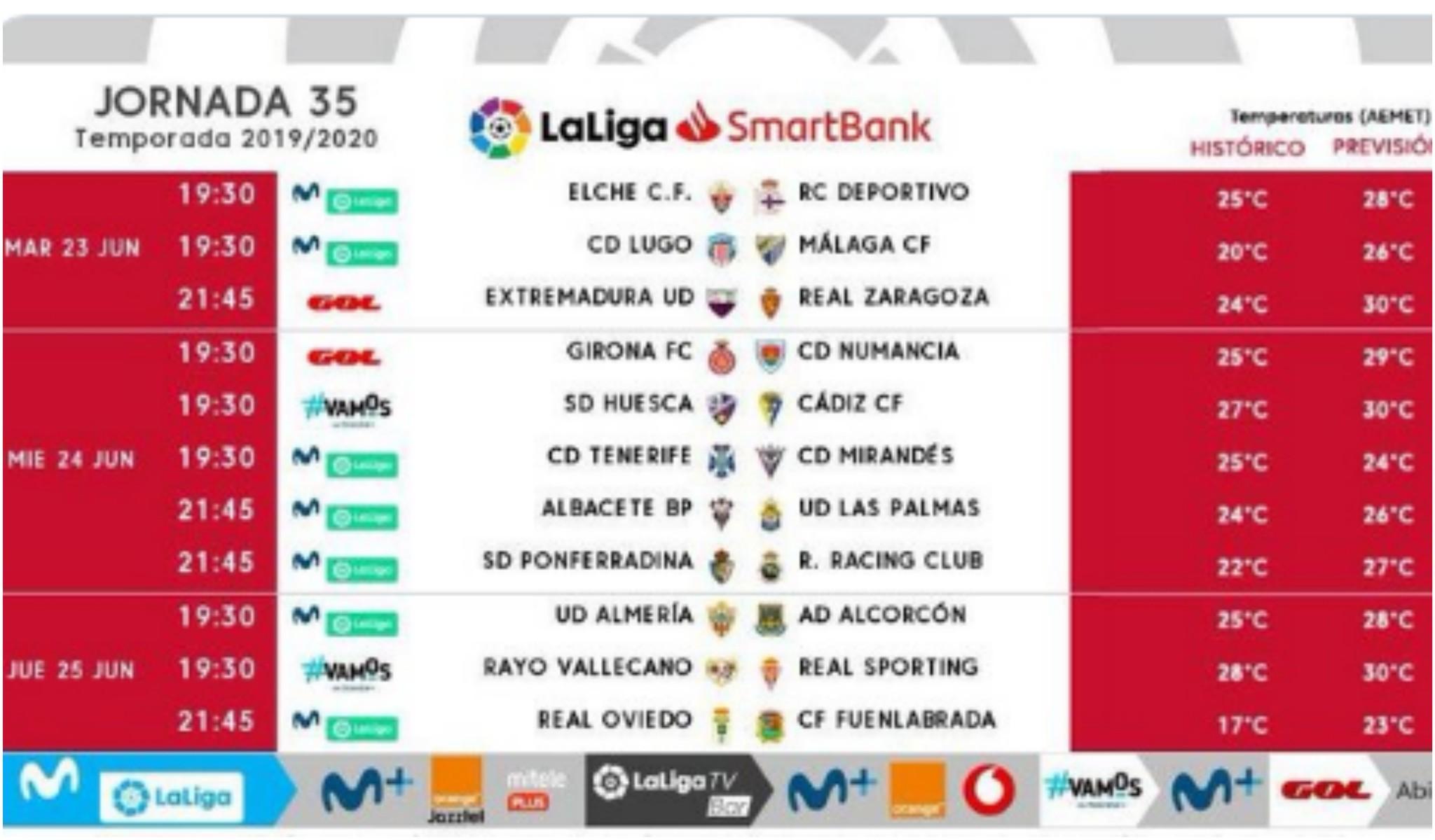 El Extremadura-Zaragoza cambia de hora y se jugará a las 21.45