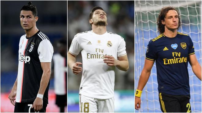 El mercado de fichajes, en directo: Cristiano apunta a la MLS, Jovic acepta una cesión al Milan y David Luiz deja caer su retirada