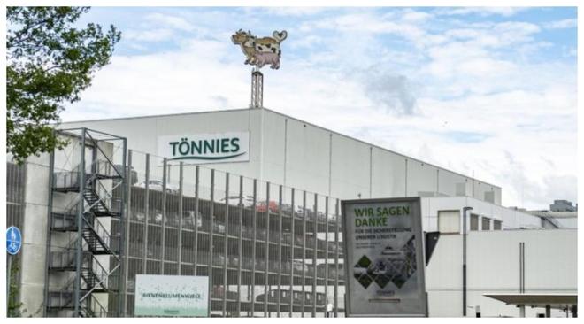 Imagne de la compañía cárnica Toennies, en Alemania.