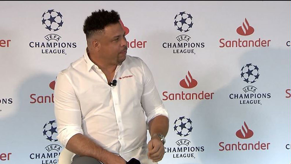 Ronaldo: I didn't refuse to lose weight, I refused to weigh myself