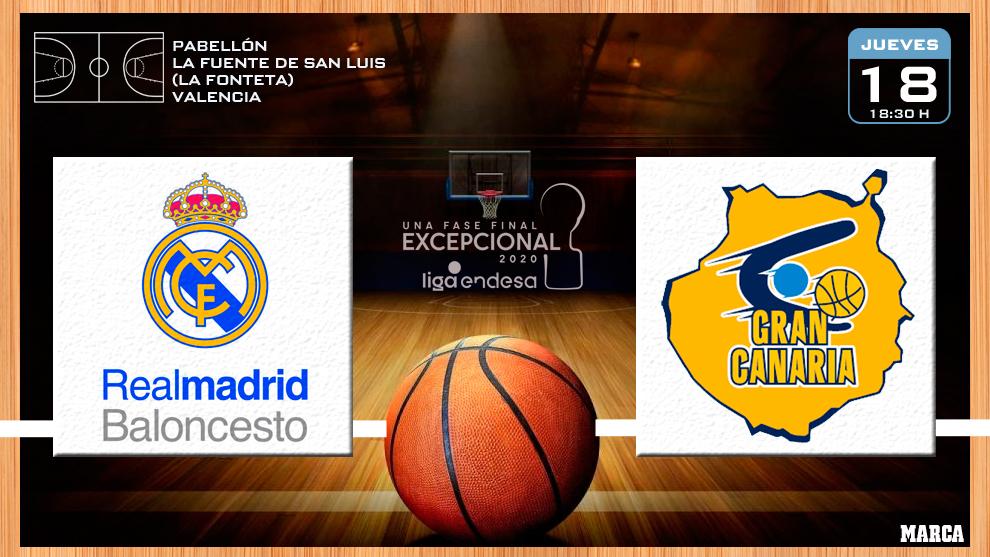 Real Madrid - Herbalife Gran Canaria en directo