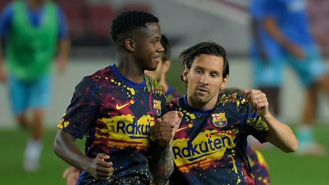 El Barça, obligado a mover ficha con Ansu Fati