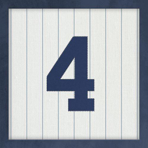 El dorsal 4 de Gehrig fue el primer número en retirarse