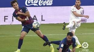 Álvaro Rey dispara ante Mosquera y Miguelón para conseguir el primer...
