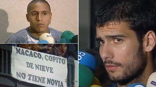 """Guardiola, sobre el racismo del Camp Nou contra Roberto Carlos en un Clásico de 1997: """"Habla mucho ese señor"""""""
