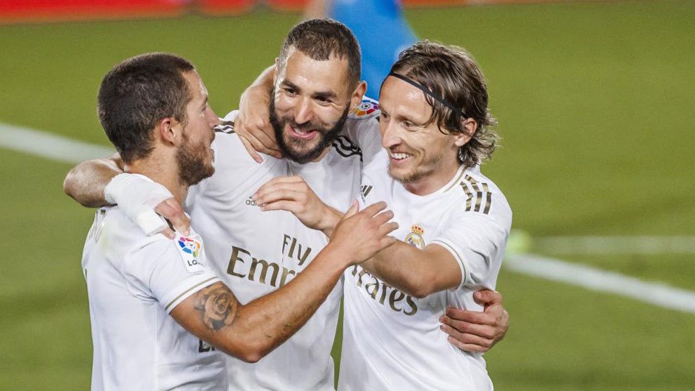Benzema once again breaks 20-goal barrier