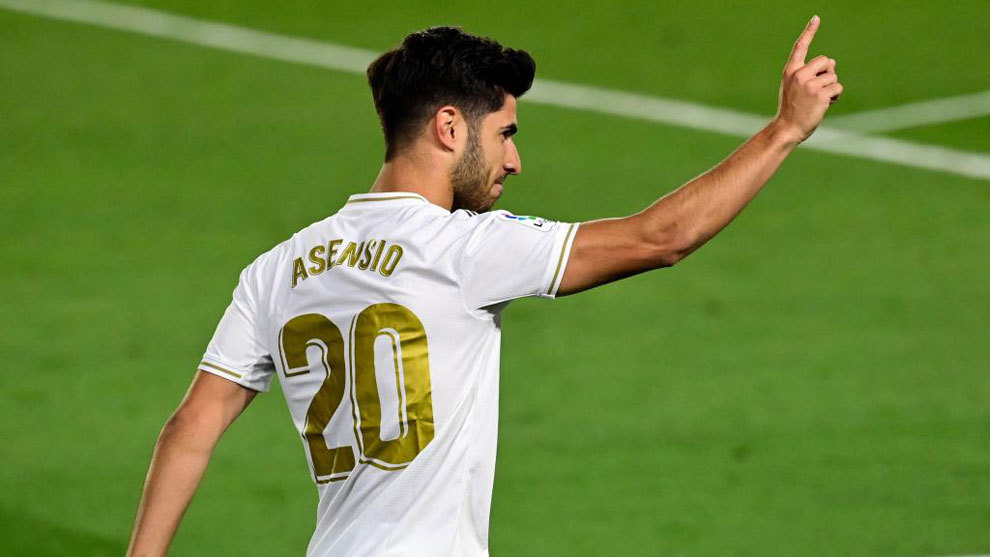 Asensio's incredible recovery: Five sessions a day, an iron mentality and the support of his own trident