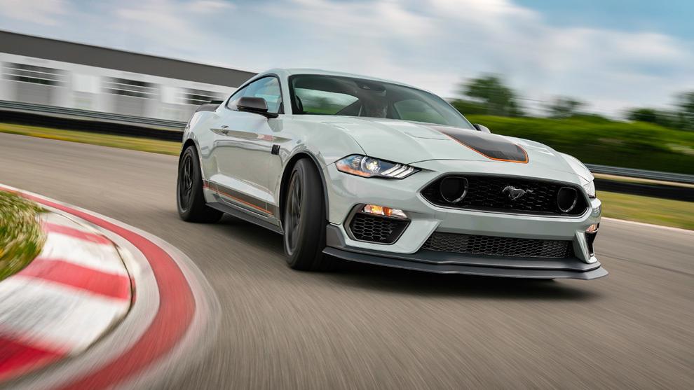 Ford Mustang Mach 1 2021: llega la versión más deportiva y extrema