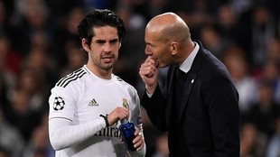 Lesion Isco Alarcon Real Madrid preocupa a Zinedine Zidane - LaLiga