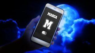 Ya está disponible el 'modo oscuro' en la app de MARCA