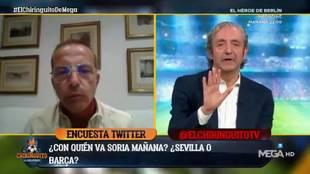 Cristóbal Soria la lía en 'El Chiringuito' y... ¡sus compañeros piden su despido!
