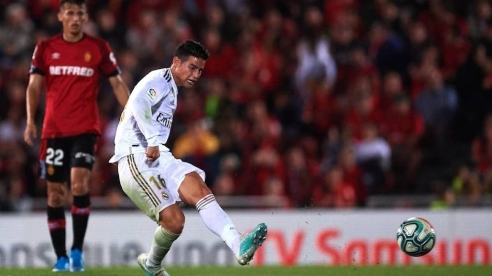 James Rodriguez goes eight months without playing in LaLiga Santander